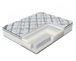 Матрас Verda Cloud Pillow Top (Silver Lace/Anti Slip) 200x190